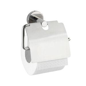 """Wenko              Toilettenpapierhalter """"Bosio"""" glänzend, mit Deckel"""