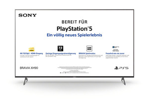 SONY KD-75XH9005 LED TV (Flat, 75 Zoll/189 cm, UHD 4K, SMART TV, Android TV)