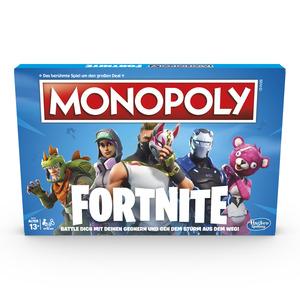 HASBRO GAMING Monopoly Fortnite Gesellschaftsspiel, Mehrfarbig