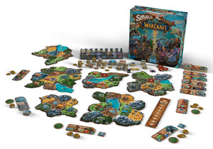 DAYS OF WONDER Small World of Warcraft Gesellschaftsspiel