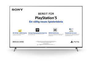 SONY KD-85XH9096 LED TV (Flat, 85 Zoll/215 cm, UHD 4K, SMART TV, Android TV)