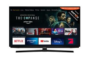 GRUNDIG 55 GUB 7040 FIRE TV EDITION LED TV (Flat, 55 Zoll/139 cm, UHD 4K, SMART TV, Fire Tv Experience)