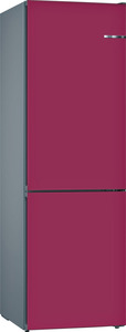BOSCH KVN39IL3A Serie 4 Kühlgefrierkombination (A++, 273 kWh/Jahr, 2030 mm hoch, Pflaume)