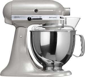 KITCHENAID 5KSM150PSEMC Artisan Küchenmaschine Grau 300 Watt