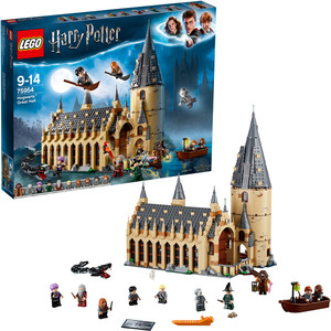 LEGO 75954 Die große Halle von Hogwarts™ Bausatz, Mehrfarbig