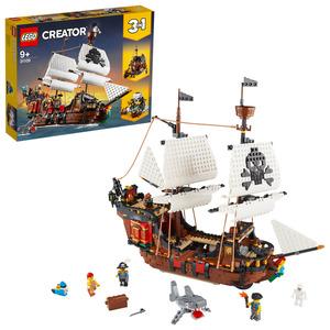 LEGO 31109 Piratenschiff Bausatz, Mehrfarbig