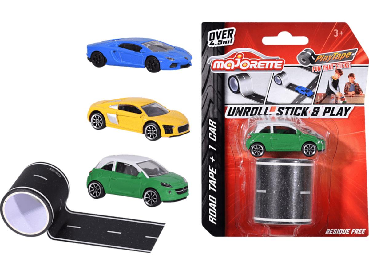 Bild 2 von DICKIE TOYS Playtape Blistercard + Car, 3-sort. Spielset, Mehrfarbig