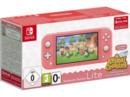 Bild 2 von NINTENDO Switch Lite Koralle inkl. Animal Crossing und 3 Monate Switch Online Mitgliedschaft Spielekonsole