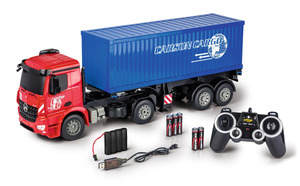 CARSON 1:20 MB Arocs m.Container 2.4G 100% RTR Spielzeugmodell