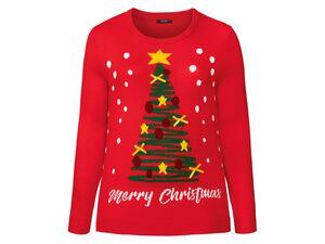 ESMARA® Weihnachtspullover Damen, mit Motiv