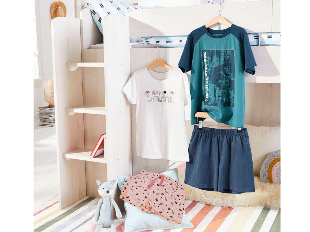 Bild 2 von PEPPERTS® Kinder Shorty Mädchen, mit Gummizugbund, Bindeband, aus reiner Baumwolle