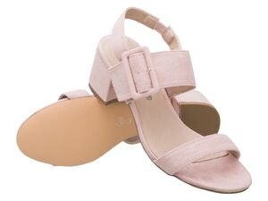 JETTE Damen Sandalen, rosa