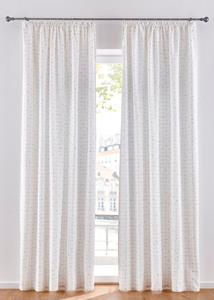 Jacquard Vorhang mit Goldgarn (1er Pack)