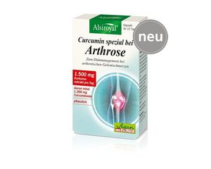 Alsiroyal Curcumin spezial bei Arthrose Kapseln