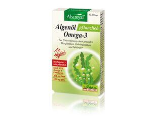 Alsiroyal Algenöl pflanzlich Omega-3 30 Kapseln