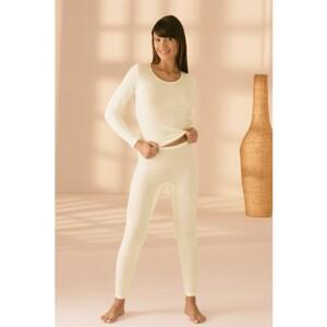 Lange Damenunterhose mit Angora-40