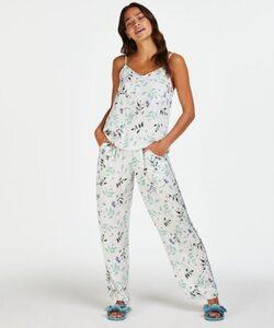 Hunkemöller Pyjamahose Woven Weiß