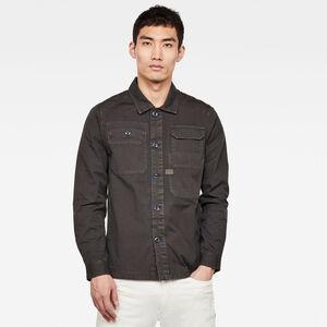 Multipocket Straight Hemd