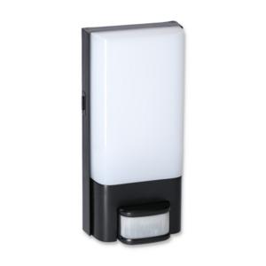 LED-Wandstrahler 'Dominic' schwarz/weiß 10 W 700 lm