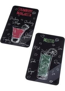 Herdabdeckplatten Drink (2er Pack)