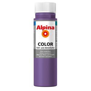 Alpina Color Voll- und Abtönfarbe 'Sweet Violet' seidenmatt 250 ml