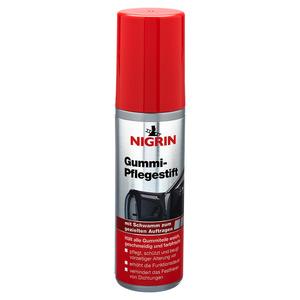 Nigrin Gummipflege mit Schwamm 75 ml