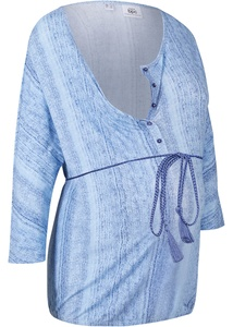 Umstandsshirt / Stillshirt in Jeansoptik