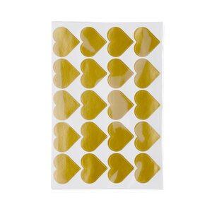 Sticker Herzen, 80 Stück