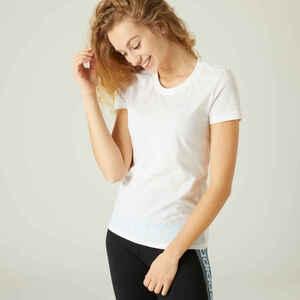 Adidas T-Shirt Damen weiss