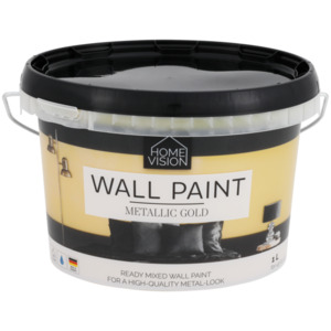 Home Vision Metallic-Wandfarbe