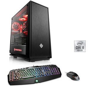 CSL HydroX T9341 Wasserkühlung Gaming-PC (Intel Core i9, RTX 3080, 32 GB RAM, 4000 GB HDD, 2000 GB SSD, Wasserkühlung)