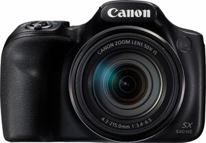 Canon »PowerShot SX540 HS« Superzoom-Kamera (20,3 MP, 50x opt. Zoom, WLAN (Wi-Fi), NFC, PictBridge-Unterstützung)