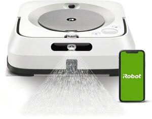 iRobot Wischroboter Braava jet m6, beutellos, Mit Imprint® Intelligente Kartierung