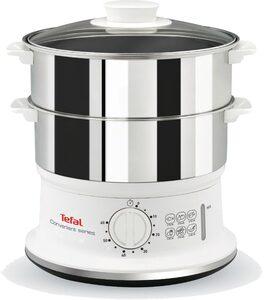 Tefal Dampfgarer VC1451; Timer und automatische Abschaltung; 24cm Durchmesser, 900 Watt