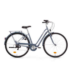 City Bike 28 Zoll Elops 120 LF Damen blau