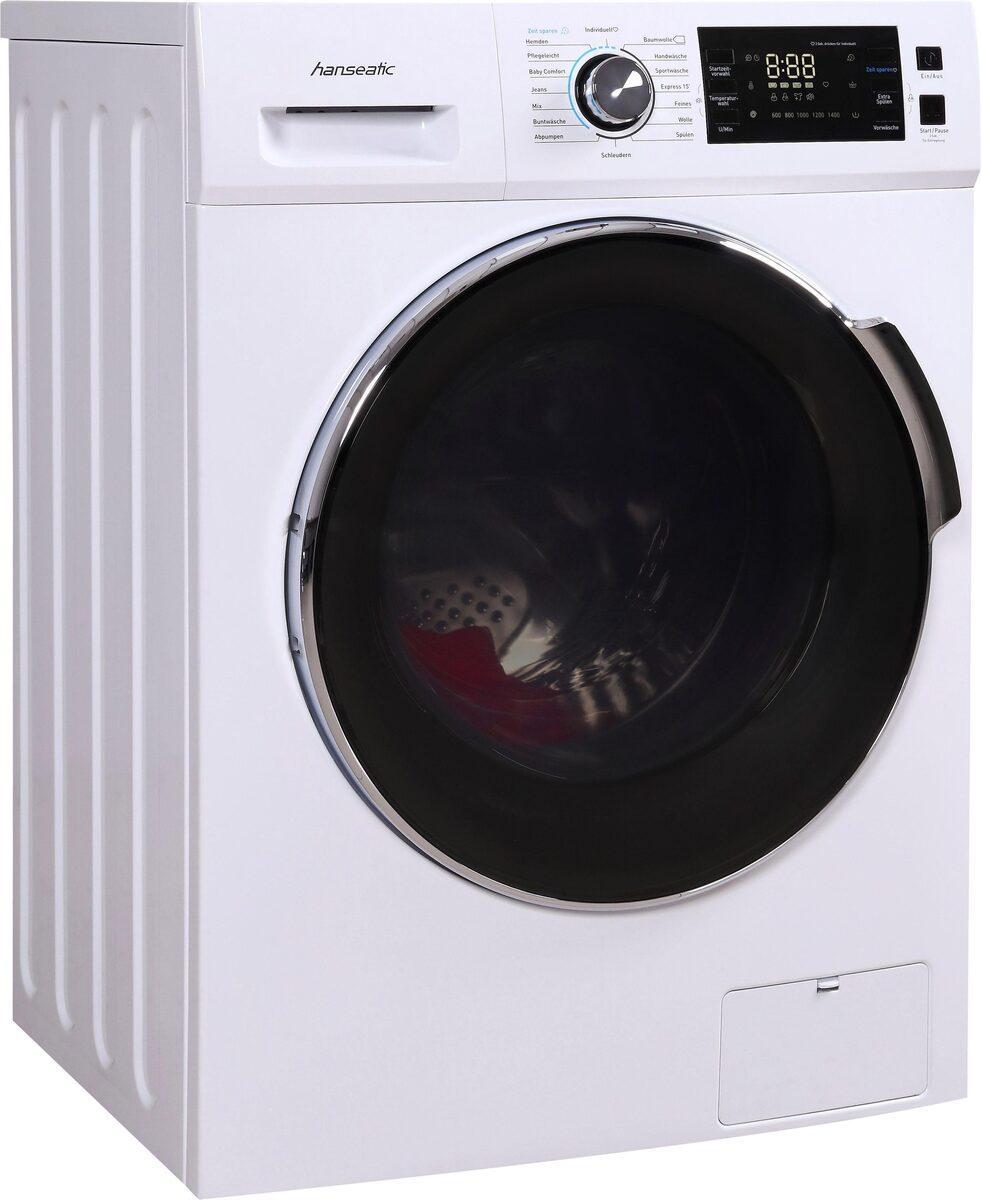 Bild 1 von Hanseatic Waschmaschine HWMB714A3, 7 kg, 1400 U/Min
