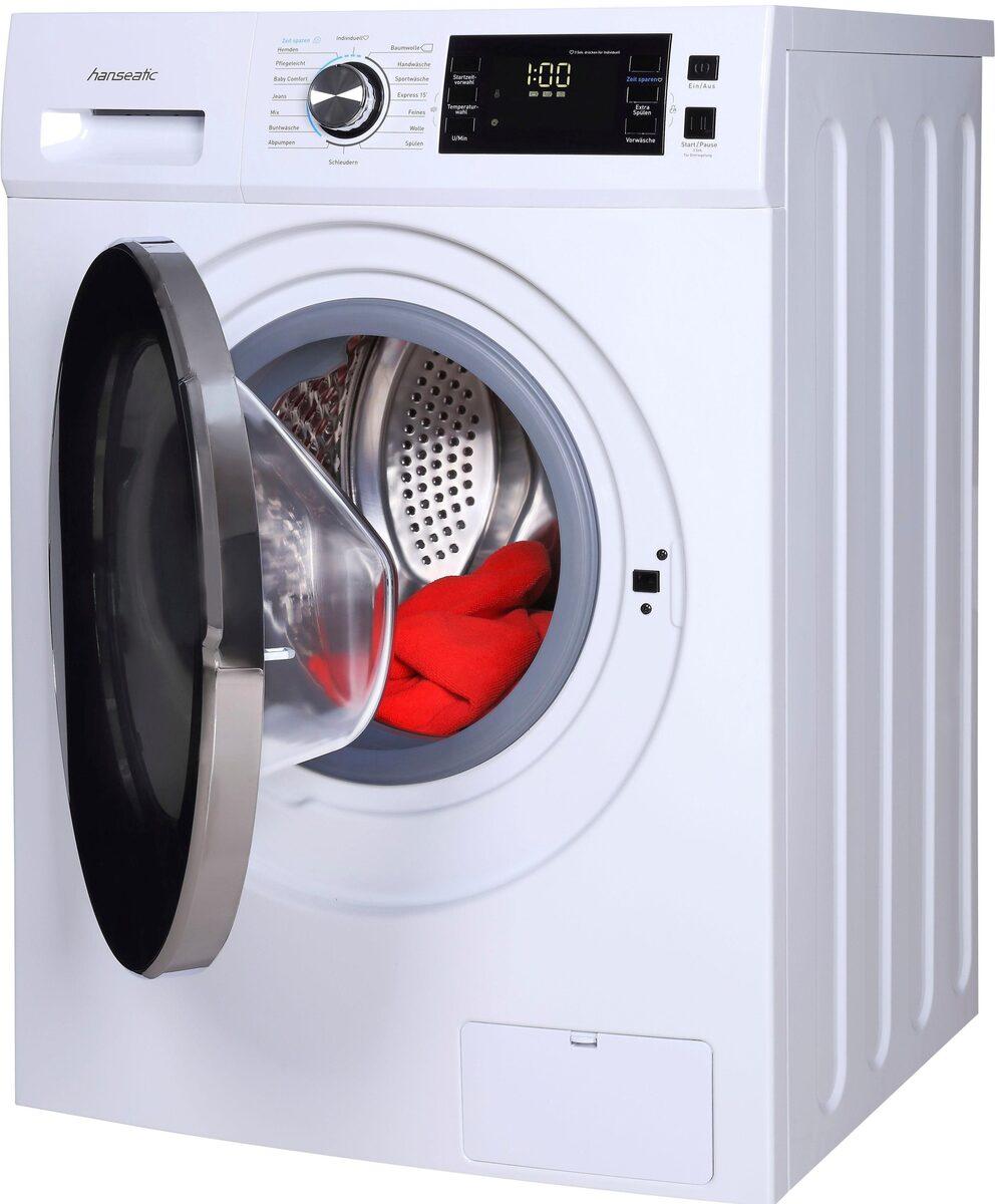 Bild 2 von Hanseatic Waschmaschine HWMB714A3, 7 kg, 1400 U/Min