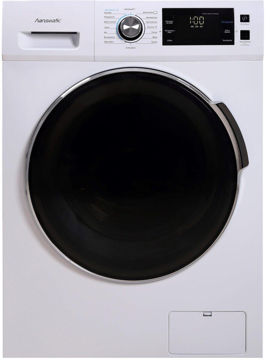 Bild 3 von Hanseatic Waschmaschine HWMB714A3, 7 kg, 1400 U/Min