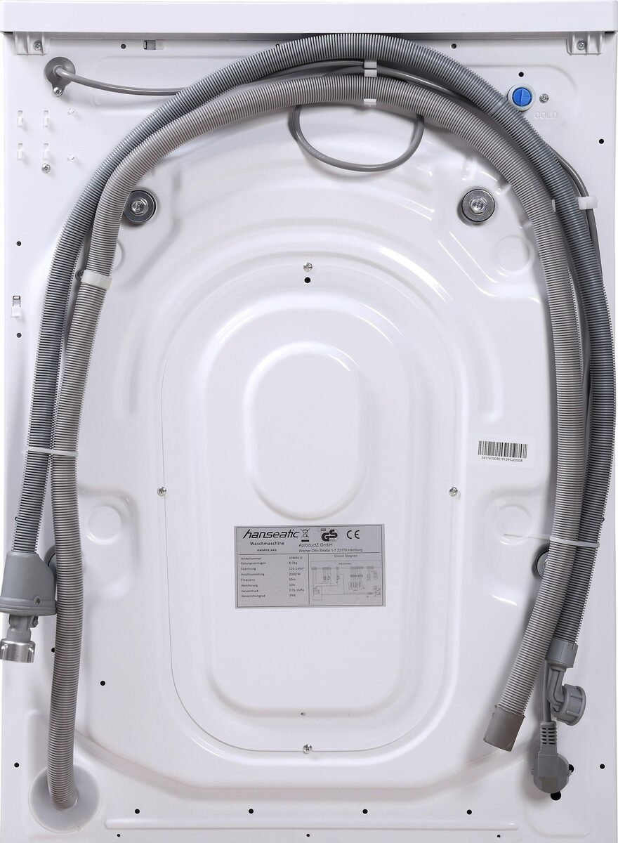 Bild 5 von Hanseatic Waschmaschine HWMB714A3, 7 kg, 1400 U/Min