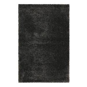 Esprit Hochflorteppich 200/290 cm gewebt schwarz , Shiny Touch , Textil , Uni , 200x290 cm , für Fußbodenheizung geeignet, in verschiedenen Größen erhältlich, UV-beständig, lichtunempfindlich,