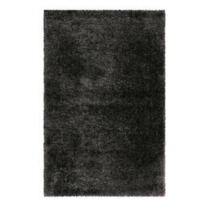 Esprit Hochflorteppich 200/200 cm gewebt schwarz , Shiny Touch , Textil , Uni , 200x200 cm , für Fußbodenheizung geeignet, in verschiedenen Größen erhältlich, UV-beständig, lichtunempfindlich,