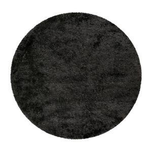 Esprit HOCHFLORTEPPICH gewebt Schwarz , Shiny Touch , Textil , Uni , für Fußbodenheizung geeignet, in verschiedenen Größen erhältlich, UV-beständig, lichtunempfindlich, pflegeleicht, strapazier
