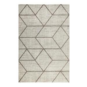 Esprit Webteppich 160/230 cm taupe, beige , Bossa Lounge , Textil , Graphik , 160x230 cm , für Fußbodenheizung geeignet, in verschiedenen Größen erhältlich, Fasern thermofixiert (heatset), licht