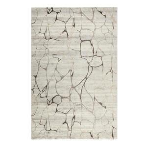 Esprit Webteppich 200/290 cm taupe, beige , Solo Fields , Textil , Abstraktes , 200x290 cm , für Fußbodenheizung geeignet, in verschiedenen Größen erhältlich, Fasern thermofixiert (heatset), lic