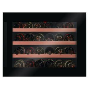 XXXLutz Weinschrank wk341200s , Wk341200S  -Top- , Schwarz , Metall, Glas , 59x45.5x60.8 cm , 002231038403