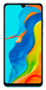 HUAWEI P30 lite New Edition Dual-SIM peacock blue Smartphone (6,15 Zoll, 256 GB, 48 MP + 8 MP + 2 MP, Triple-Kamera, 3.340-mAh, Octa-Core, Fingerabdrucksensor, blau)