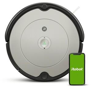 iRobot ROOMBA 698 Saugroboter (App-Steuerung, Sprachassistent, 3 Reinigungsstufen, Dirt Detect-Technologie, AeroVac Filter)