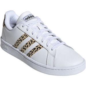 adidas Grand Court Sneaker, 3 Streifen, Leo, für Damen