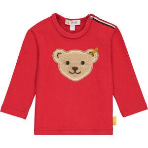 Steiff Bear to school Langarmshirt, Druckknopf, für Baby Jungen