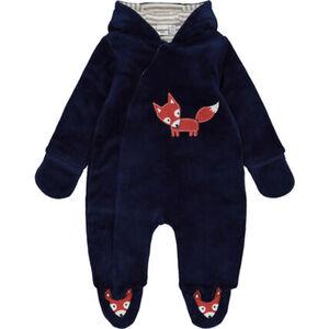 MANGUUN Nicki-Overall, leicht wattiert, Kapuze, für Baby Jungen